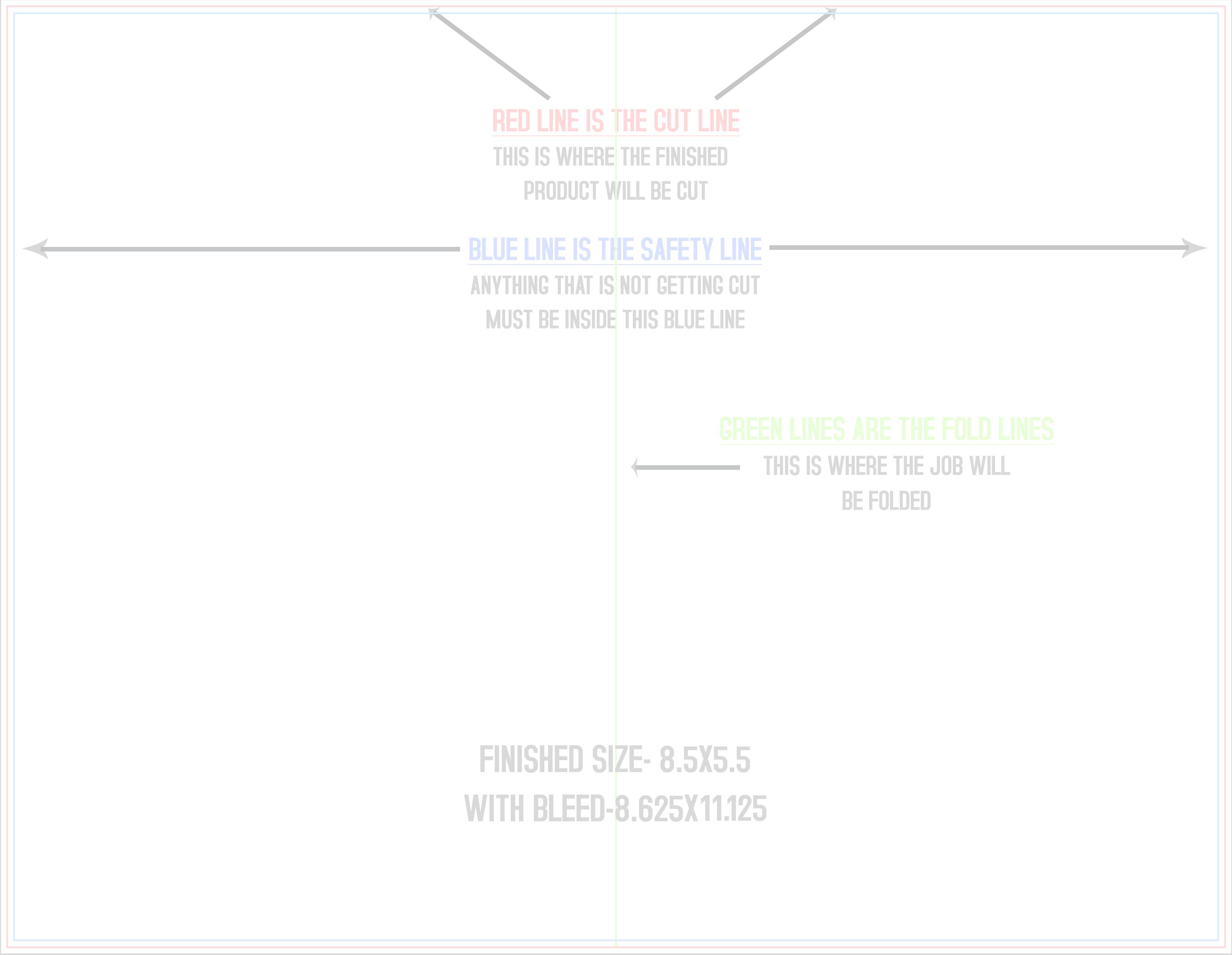 Full Color Brochures Menus Printing Services PrintshaQcom - 85x11 tri fold brochure template