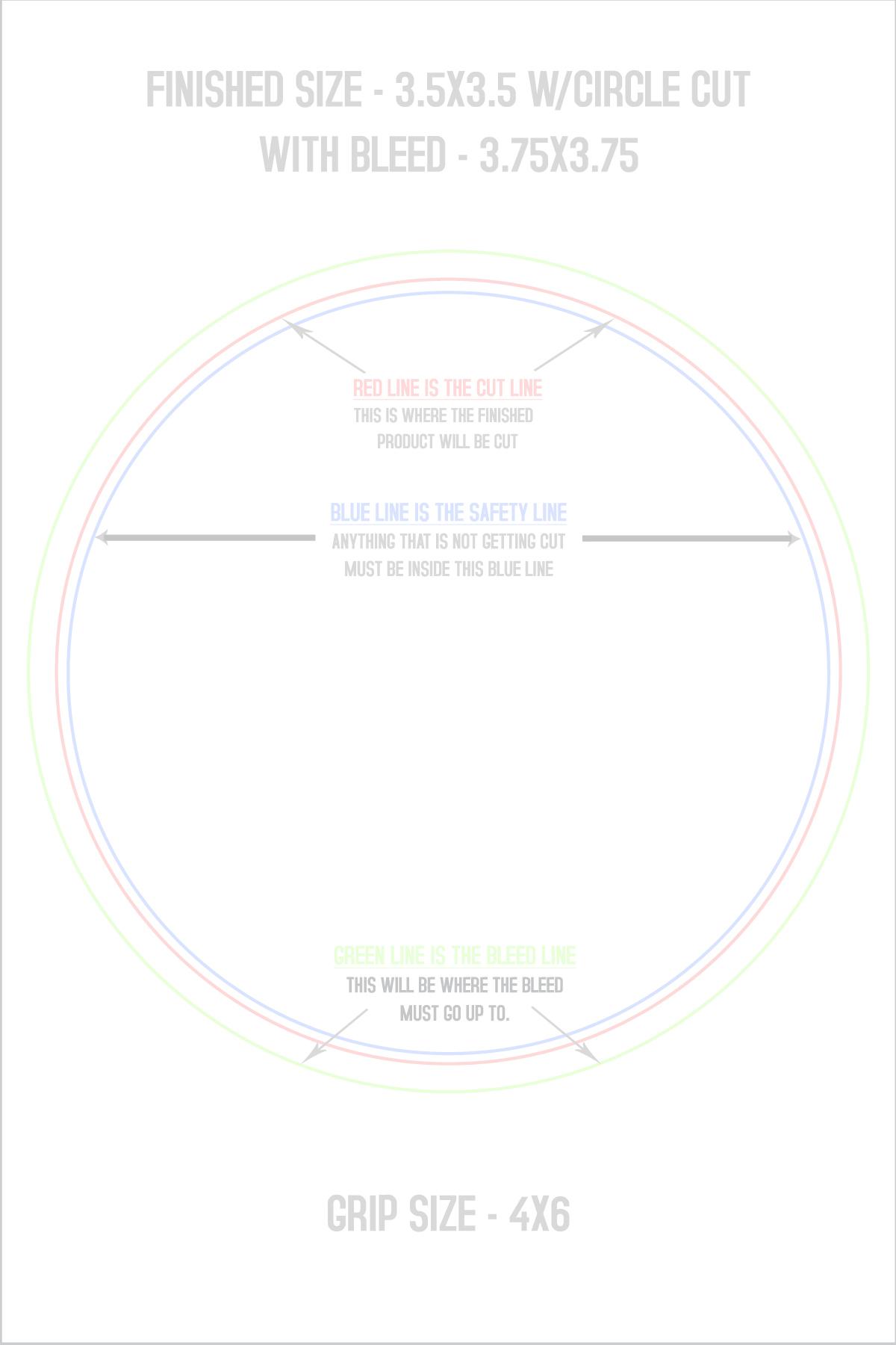 Print Premium Full Color Round Crack-N-Peel Stickers w/ UV Gloss ...